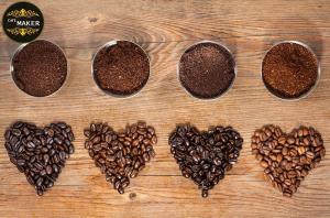 انواع دانه قهوه۲